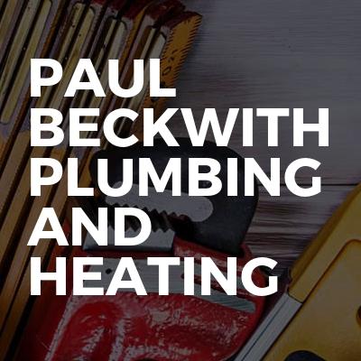 Paul Beckwith plumbing and heating