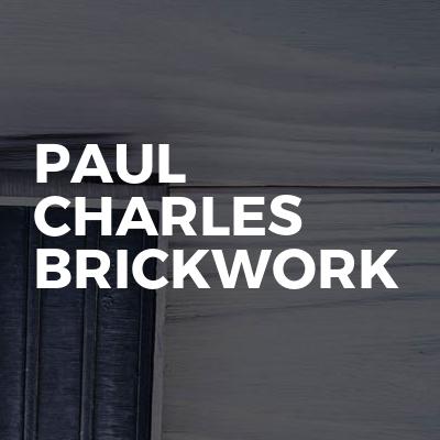 Paul Charles Brickwork