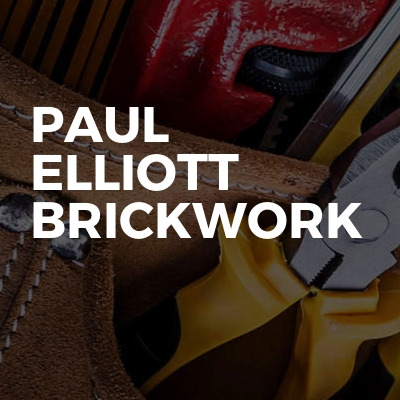Paul Elliott brickwork