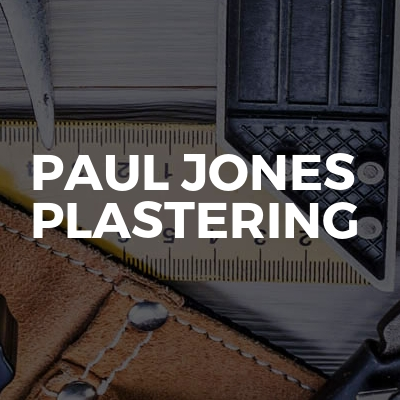 Paul Jones Plastering