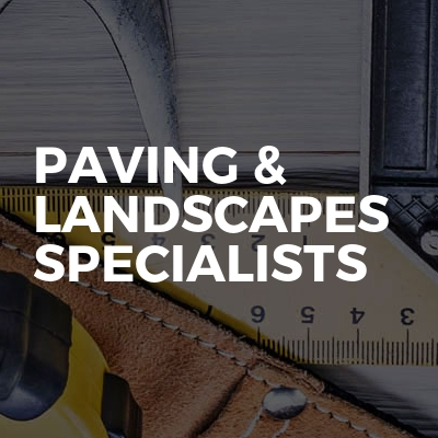 Paving & landscapes specialists