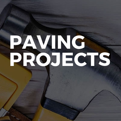 Paving projects
