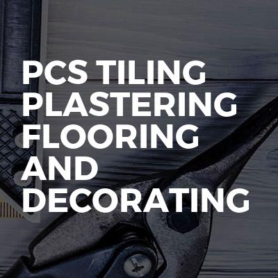 Pcs tiling plastering flooring and decorating