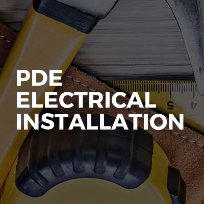 Pde Electrical Installation