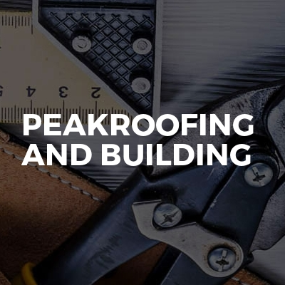 Peakroofing and building