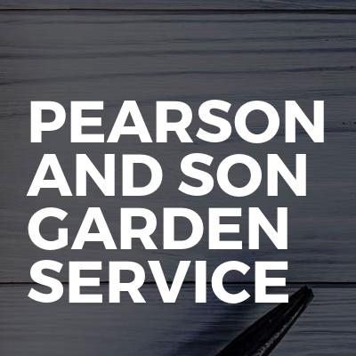 Pearson And Son Garden Service