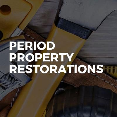 Period Property Restorations