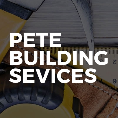 Pete building sevices