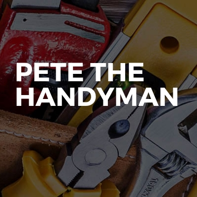 Pete The Handyman