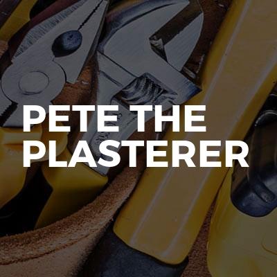 Pete the plasterer