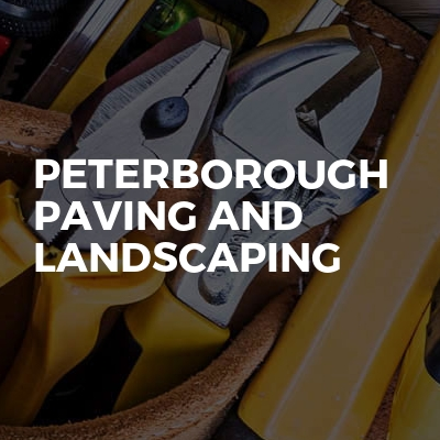 Peterborough paving and landscaping