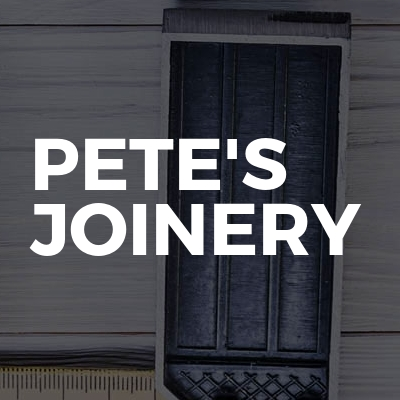 Pete's Joinery