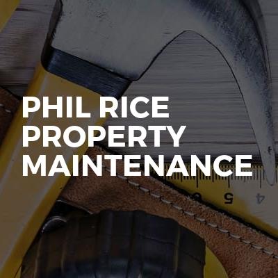 Phil Rice Property Maintenance