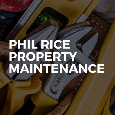Phil Rice Property Maintenance