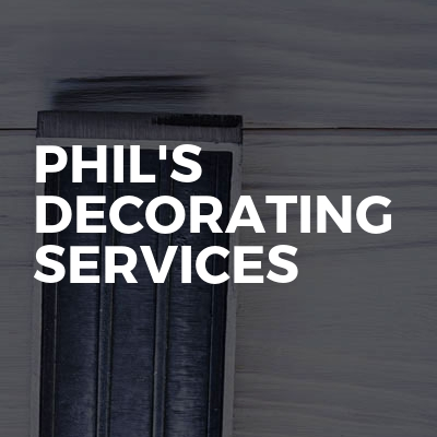 Phil's Decorating Services