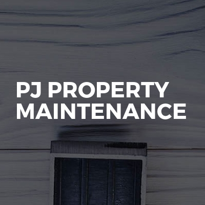 Pj property maintenance