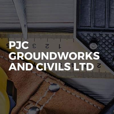Pjc groundworks and civils Ltd