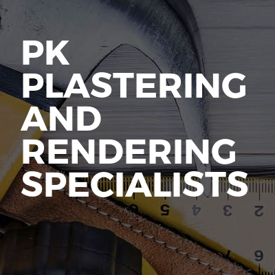 Pk plastering and rendering specialists