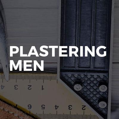 Plastering Men