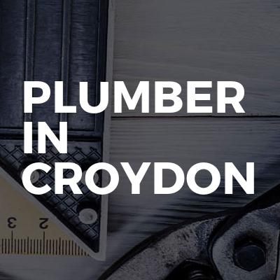 Plumber in Croydon