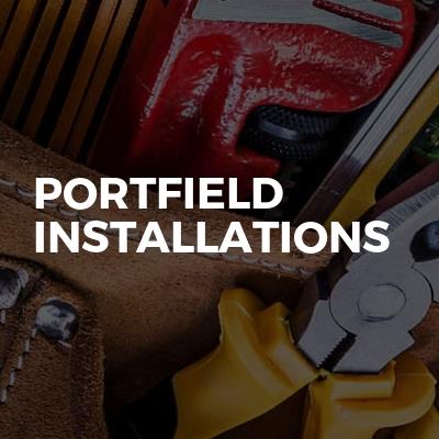 Portfield installations