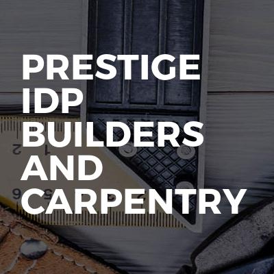 Prestige IDP Builders and Carpentry