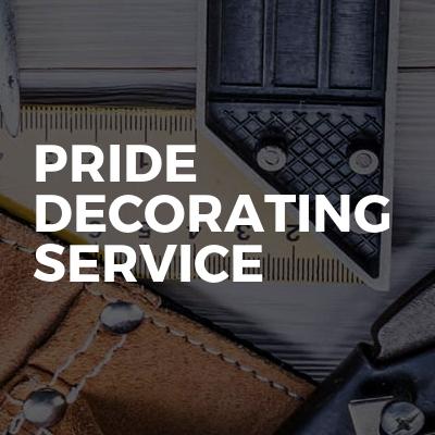Pride Decorating Service