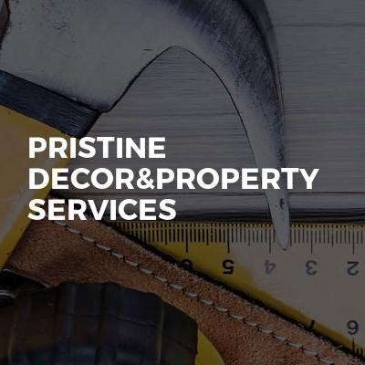 Pristine Decor&property services