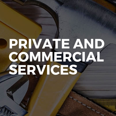 Private and commercial services
