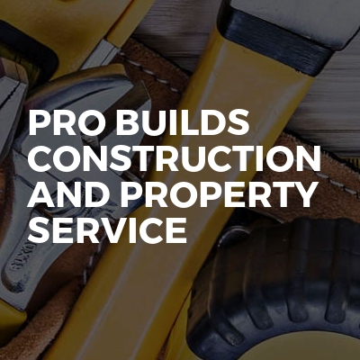 Pro Builds construction and property service