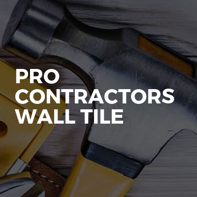 pro contractors wall tile