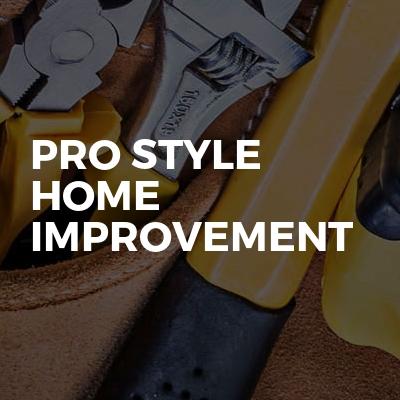Pro style home improvement