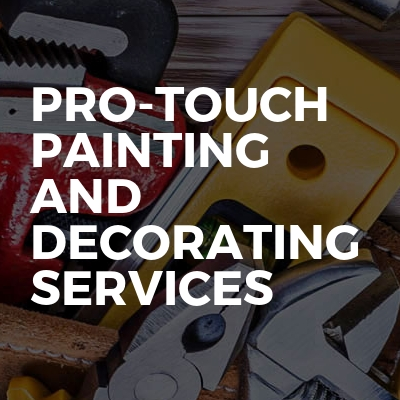 Pro-touch painting and decorating services