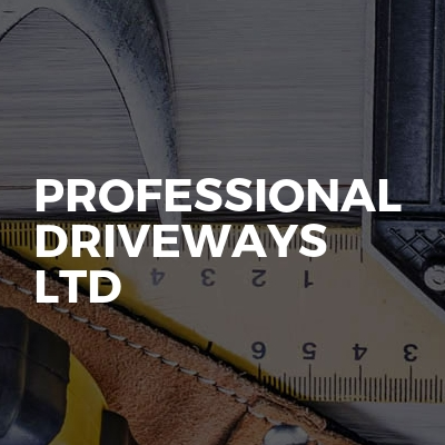 Professional driveways ltd