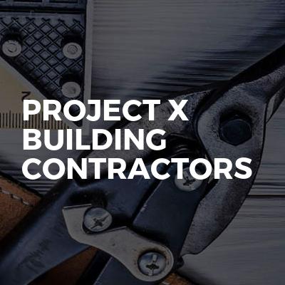 Project x building contractors