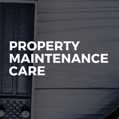 Property Maintenance care