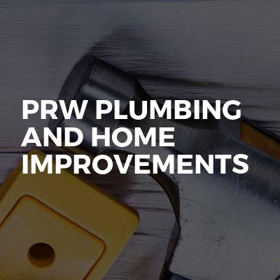 Prw plumbing and home improvements