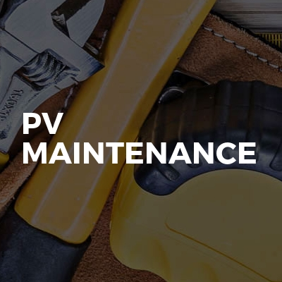 Pv Maintenance