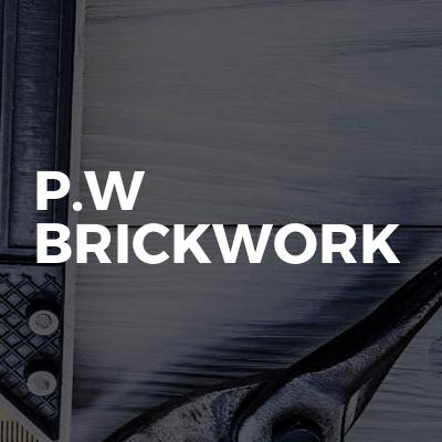 P.W Brickwork