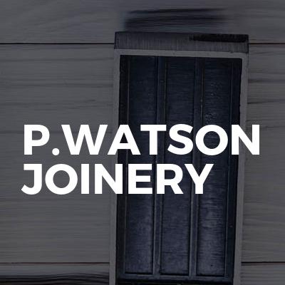 p.watson joinery