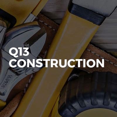 Q13 Construction