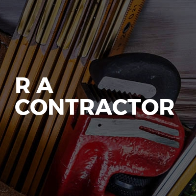 R A Contractor