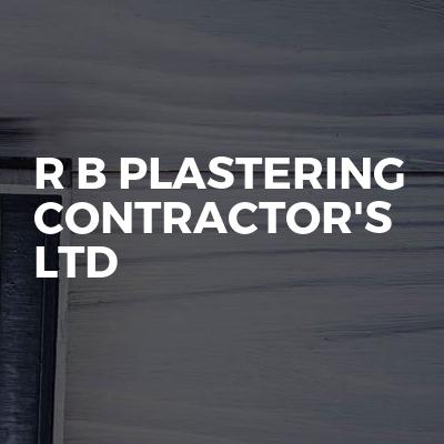R B Plastering Contractor's Ltd