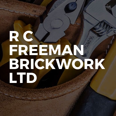 R C Freeman Brickwork Ltd
