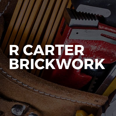 R Carter Brickwork
