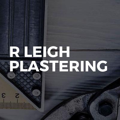 R Leigh Plastering