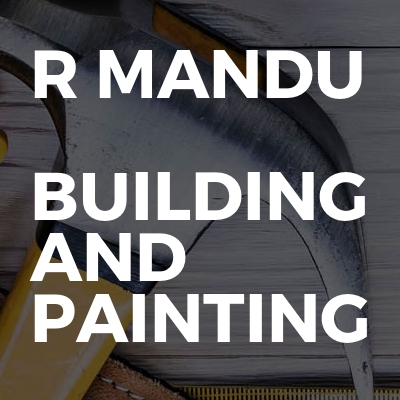 R Mandu  Building and painting