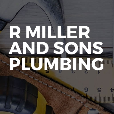 R Miller And Sons Plumbing