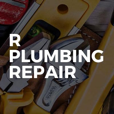 R plumbing repair