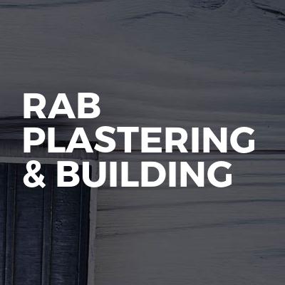 RAB Plastering & Building